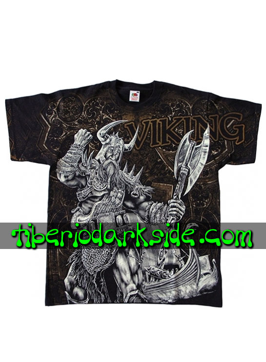 HOMBRE - Camisetas FRUIT OF THE LOOM Camiseta Viking Valhalla