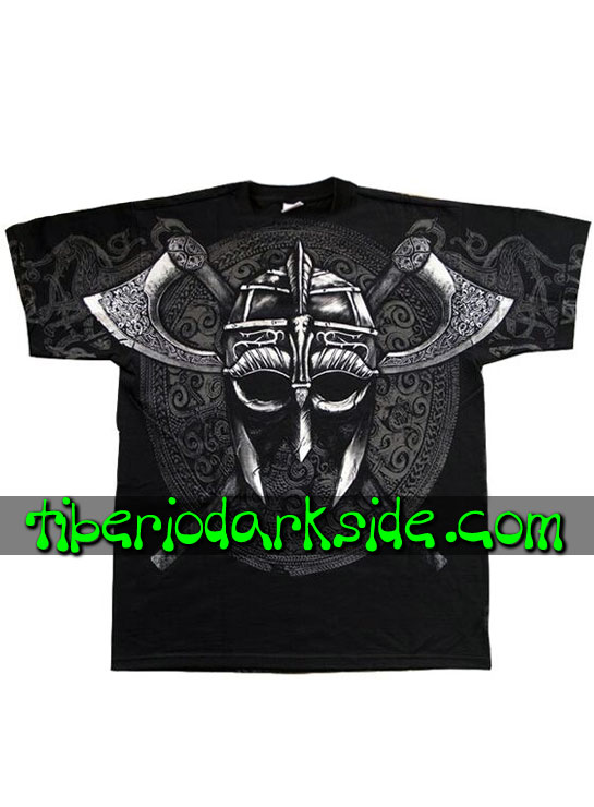 HOMBRE - Camisetas FRUIT OF THE LOOM Camiseta Viking Casco