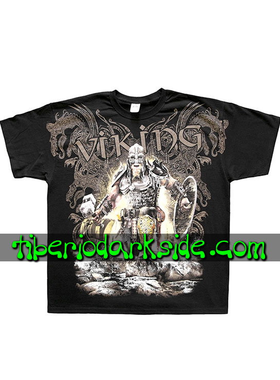 HOMBRE - Camisetas FRUIT OF THE LOOM Camiseta Viking Thor