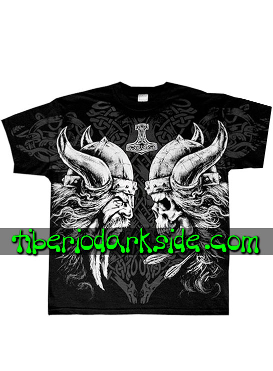 HOMBRE - Camisetas FRUIT OF THE LOOM Camiseta Viking Fuerza