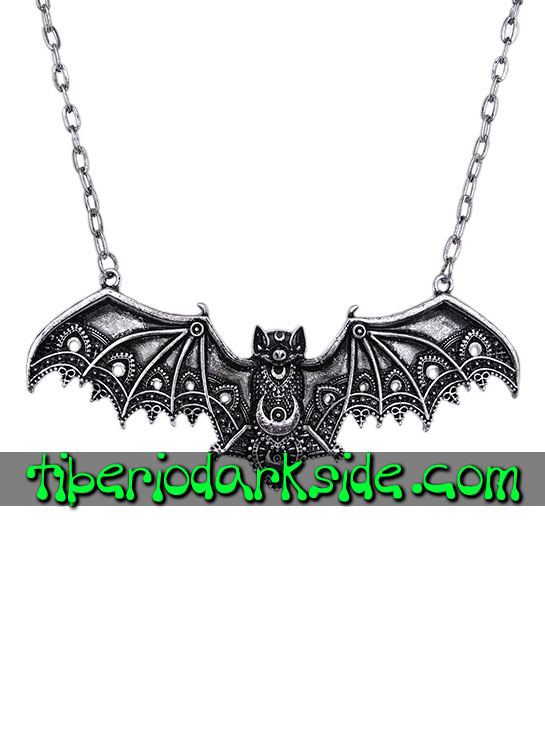 JEWELLERY - Pendants RESTYLE Witchcraft Silver Lace Bat Pendant