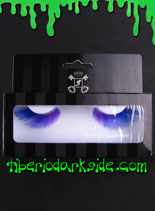 MAKE UP - Lashes Blue and Purple False Eyelashes