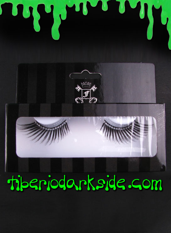 MAKE UP - Lashes Rhinestone Black False Eyelashes