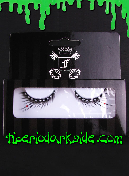 MAKE UP - Lashes Strass Black False Eyelashes