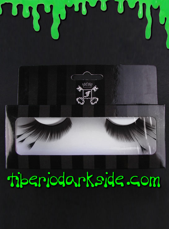 MAKE UP - Lashes Black Feather False Eyelashes