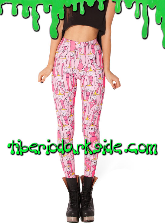 Pantalones - Leggings Leggings Hora de Aventuras Princesa Chicle