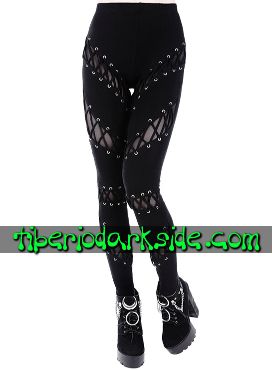 Tiberio Dark Side Leggings - RESTYLE Leggings Nu Goth Lazadas Corse