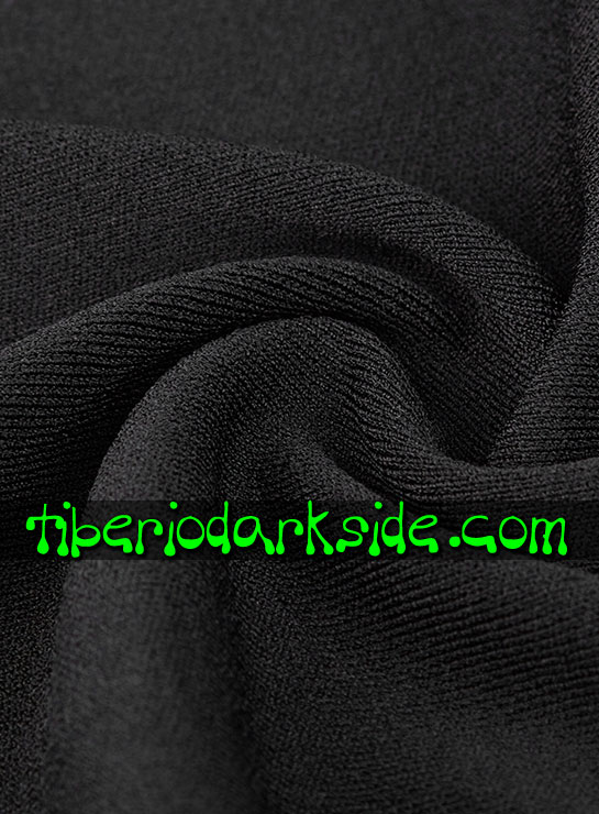 Tiberio Dark Side.  - PUNK RAVE Vestido Casual Goth Sweater Abierto
