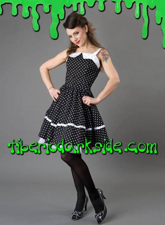 Vestidos - Pin Up / Psychobilly PHAZE Vestido Pin Up Lunares