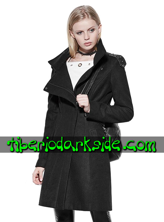 Tiberio Dark Side. Outwear - PUNK RAVE Soldier Nu Goth Coat