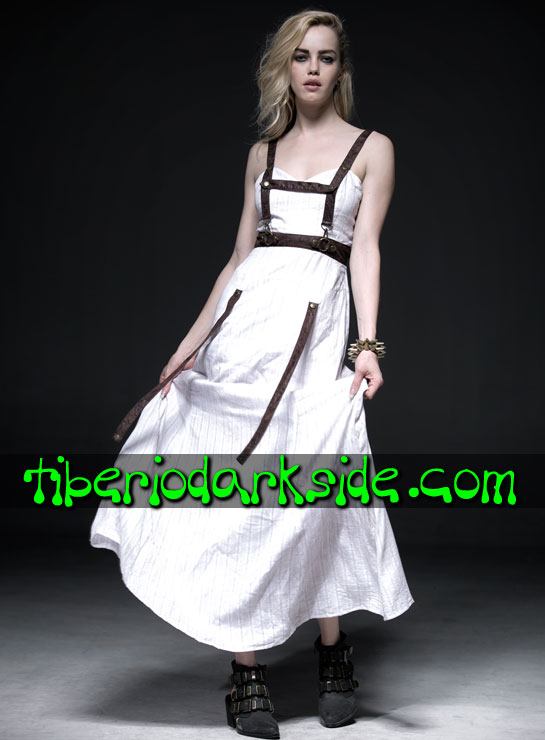 Tiberio Dark Side.  - PUNK RAVE Vestido Steampunk Arnes