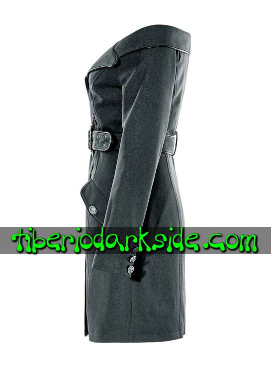 Tiberio Dark Side. CORPORATE & MILITARY GOTH - PUNK RAVE Vestido Militar Uniforme Hombros Descubiertos