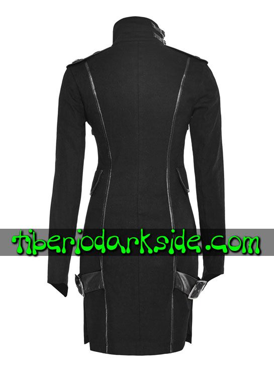 Tiberio Dark Side. CORPORATE & MILITARY GOTH - PUNK RAVE Vestido Militar Uniforme Hebillas