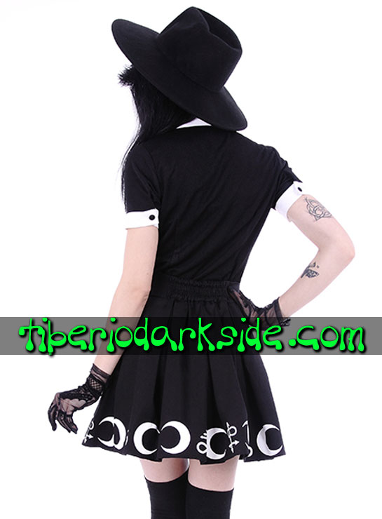 Tiberio Dark Side Camisas y Tops - RESTYLE Camisa Nu Goth Moon Child