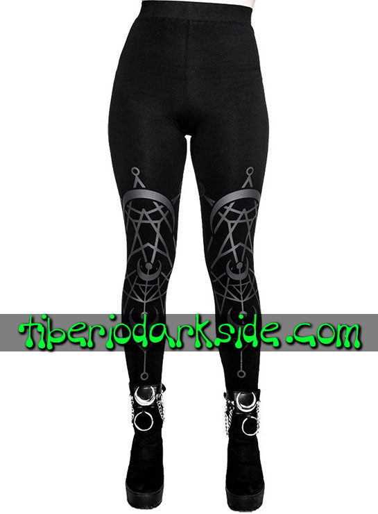 Tiberio Dark Side Leggings - RESTYLE Leggings Nu Goth Luna Gemela