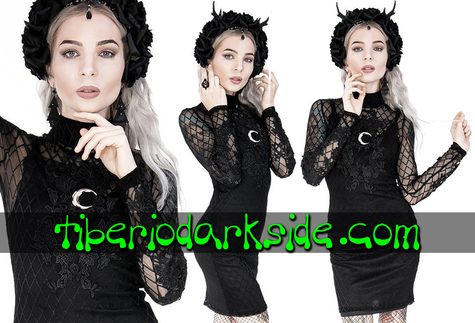 RESTYLE - Dresses RESTYLE Moon Mesh  Pencil Gothic Dress