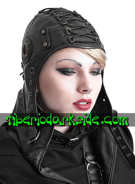 ACCESSORIES - Hair Accessories PUNK RAVE Pilot Military Hat