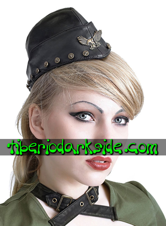 ACCESSORIES - Hair Accessories PUNK RAVE Military Soldier Side Hat