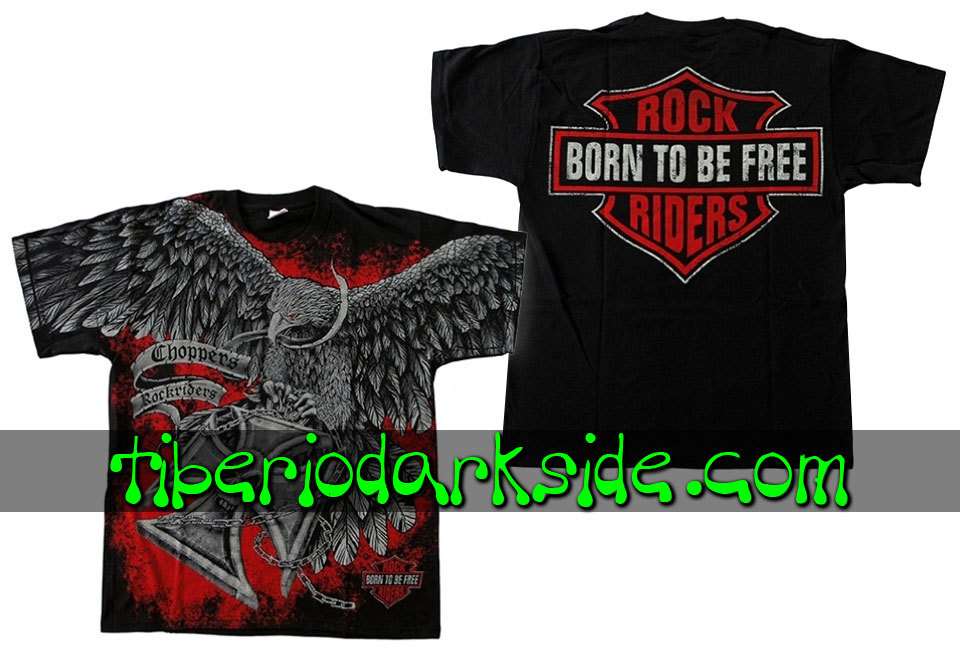 HOMBRE - Camisetas TIBERIO DARK SIDE Camiseta Born to Be Free Aguila