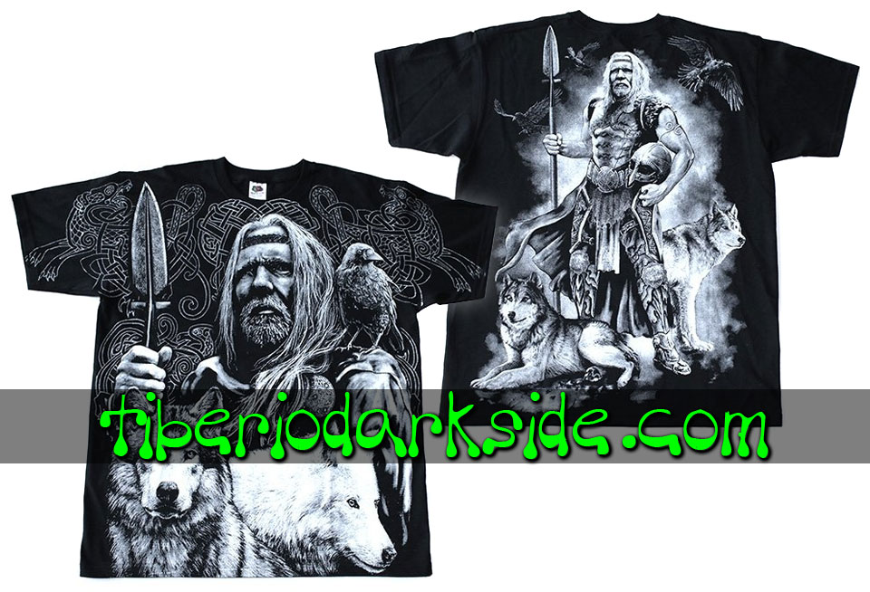 HOMBRE - Camisetas TIBERIO DARK SIDE Camiseta Viking Odin