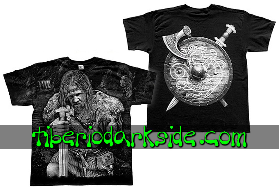 HOMBRE - Camisetas TIBERIO DARK SIDE Camiseta Viking Jarl