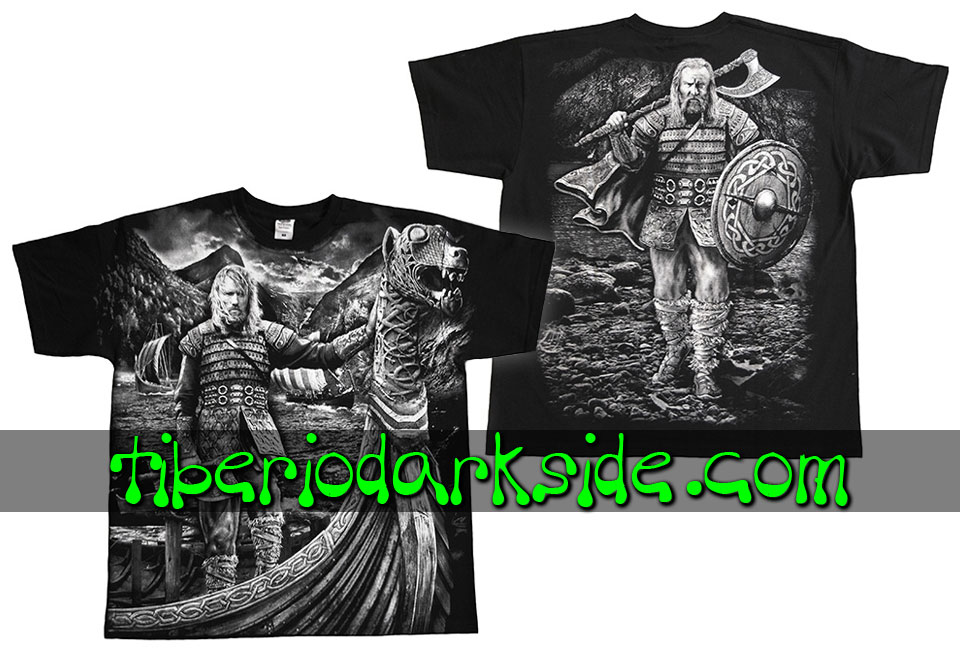 HOMBRE - Camisetas TIBERIO DARK SIDE Camiseta Viking Barco
