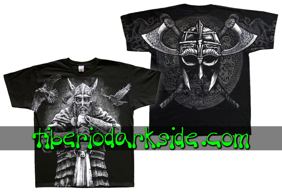 HOMBRE - Camisetas TIBERIO DARK SIDE Camiseta Viking Guerrero