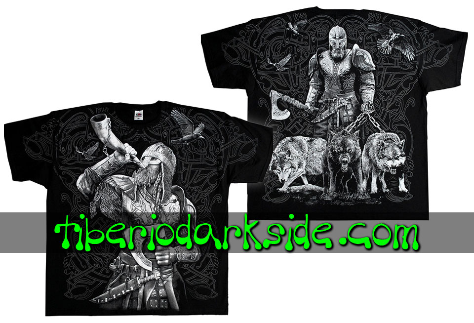 HOMBRE - Camisetas TIBERIO DARK SIDE Camiseta Viking Cazador