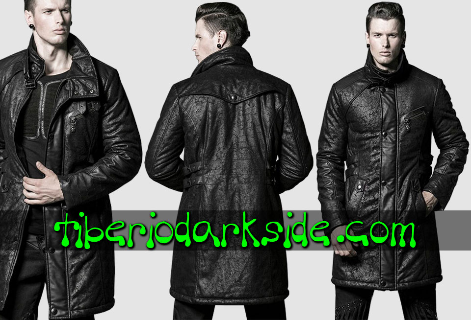 POST APOCALYPTIC - Men's PUNK RAVE Mercenary Post Apocalyptic Coat