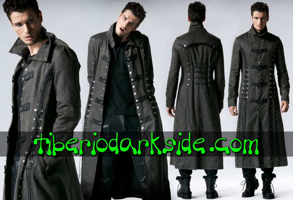 POST APOCALYPTIC - Men's PUNK RAVE Acid Rain Post Apocalyptic Coat