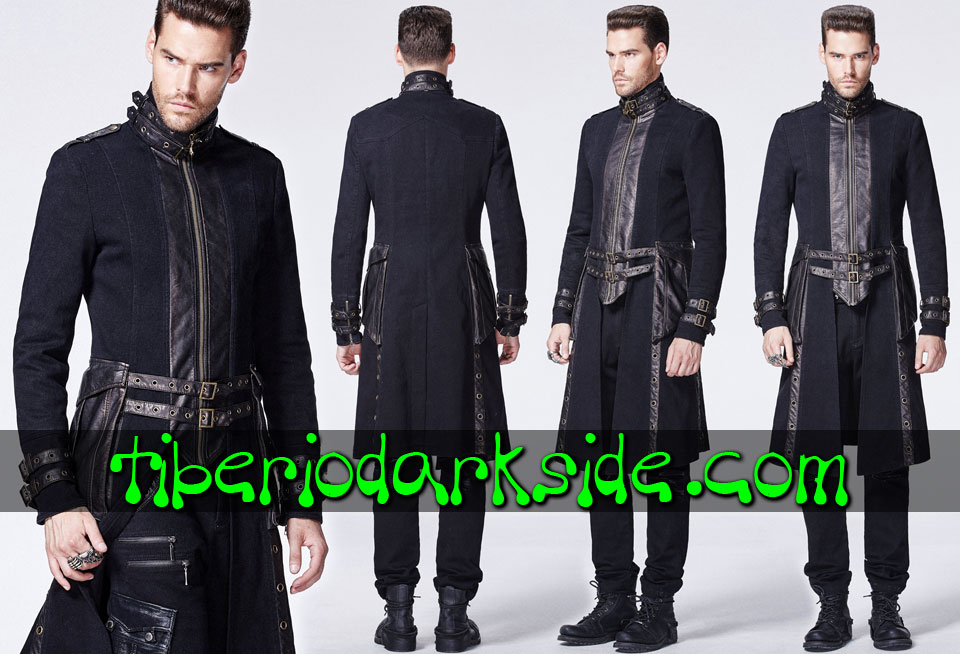 POST APOCALYPTIC - Men's PUNK RAVE Uniform Post Apocalyptic Coat