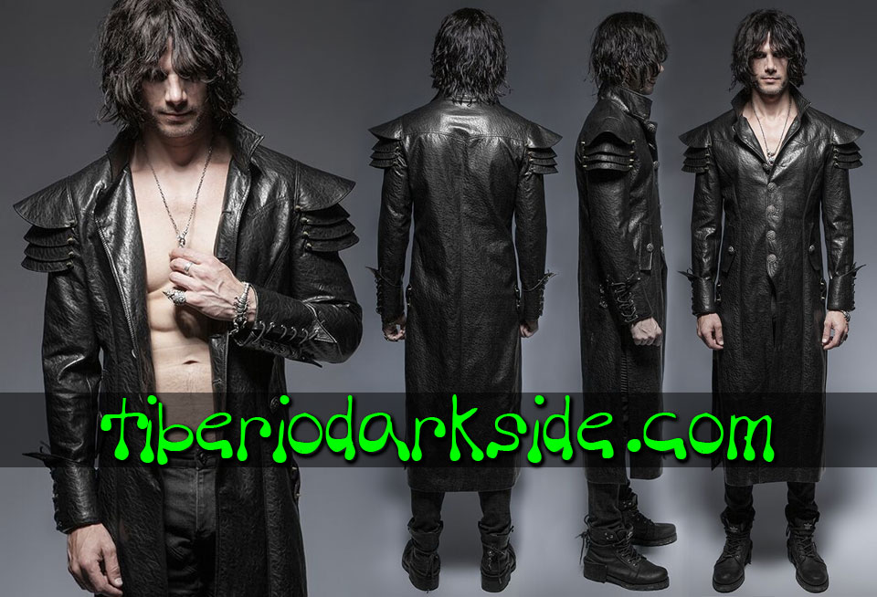 POST APOCALYPTIC - Men's PUNK RAVE Warrior Armor Post Apocalyptic Coat