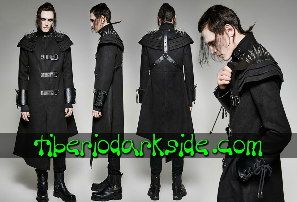 POST APOCALYPTIC - Men's PUNK RAVE Military Post Apocalyptic Coat