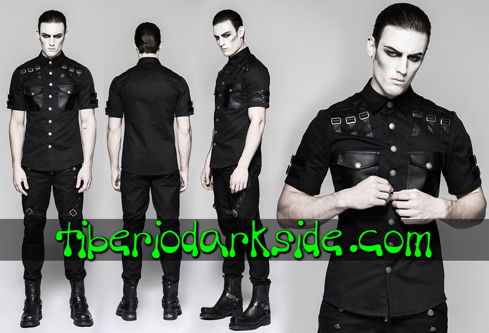 Shirts - Short Sleeve PUNK RAVE Industrial Goth Shirt