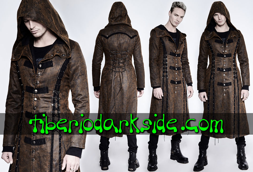 POST APOCALYPTIC - Men's PUNK RAVE Toxic Rain Post Apocalyptic Coat
