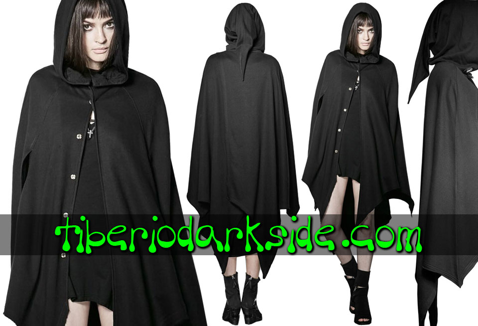 WITCHY & NU GOTH - Outwear PUNK RAVE Witchcraft Nu Goth Hooded Cape