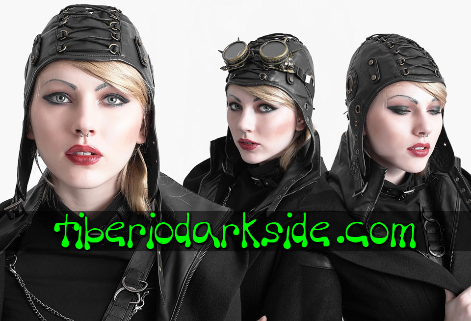CORPORATE & MILITARY GOTH - Accesorios PUNK RAVE Gorro Militar Piloto