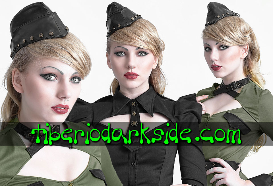 CORPORATE & MILITARY GOTH - Accesorios PUNK RAVE Gorro Militar Soldado