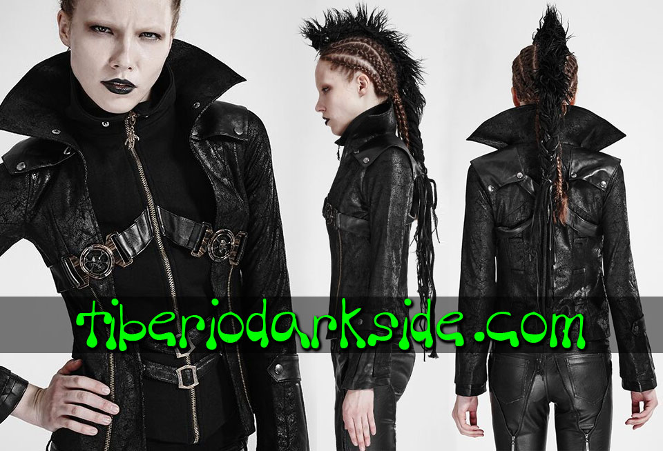 POST APOCALYPTIC - Outwear PUNK RAVE Skulls Post Apocalyptic Jacket