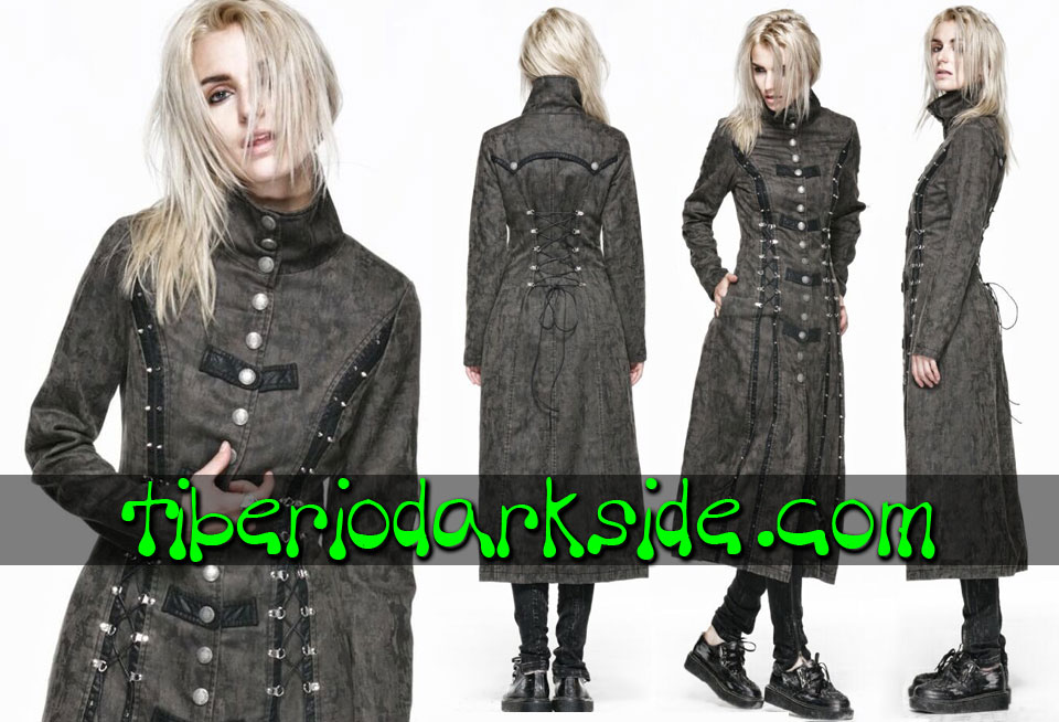 POST APOCALYPTIC - Outwear PUNK RAVE Acid Rain Post Apocalyptic Coat