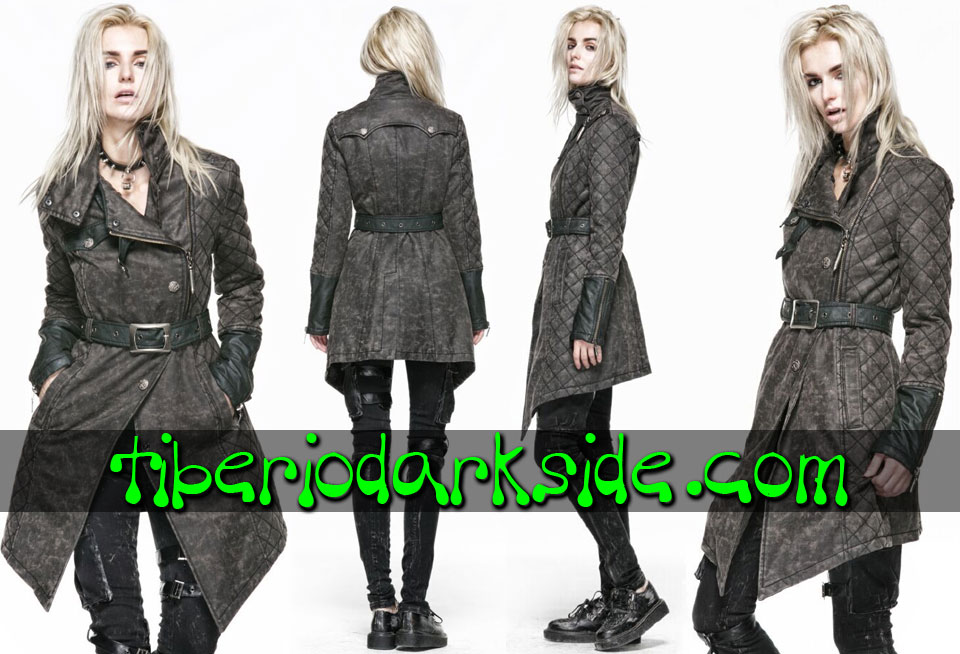 POST APOCALYPTIC - Outwear PUNK RAVE Army Post Apocalyptic Coat