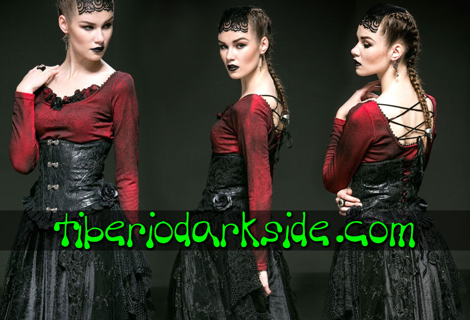 - CLASSIC & VICTORIAN GOTH PUNK RAVE Gypsy Gothic Underbust Corset