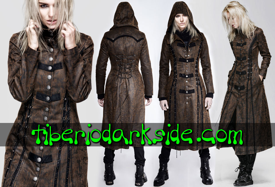 POST APOCALYPTIC - Outwear PUNK RAVE Toxic Rain Post Apocalyptic Coat