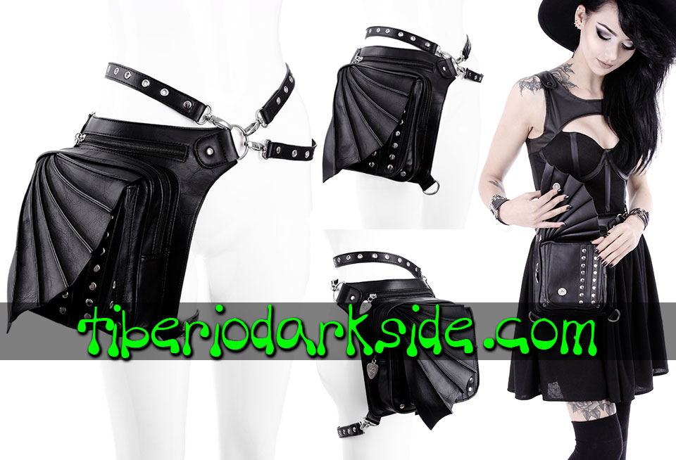WITCHY & NU GOTH - Accessories RESTYLE Bat Wing Holster Bag Belt