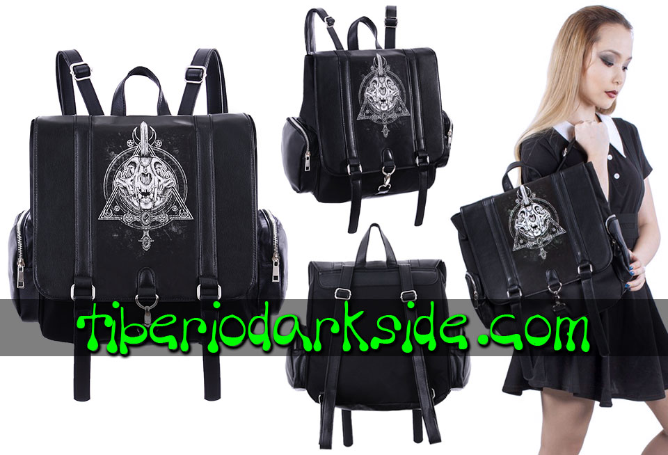 BAGS - Backpacks RESTYLE Black Magic Nu Goth Backpack