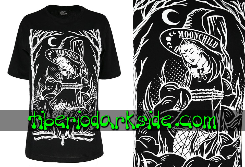 RESTYLE - Camisetas RESTYLE Camiseta Oversize Burn the Witch