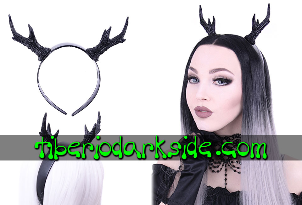 WITCHY & NU GOTH - Accessories RESTYLE Deer Antlers Headband