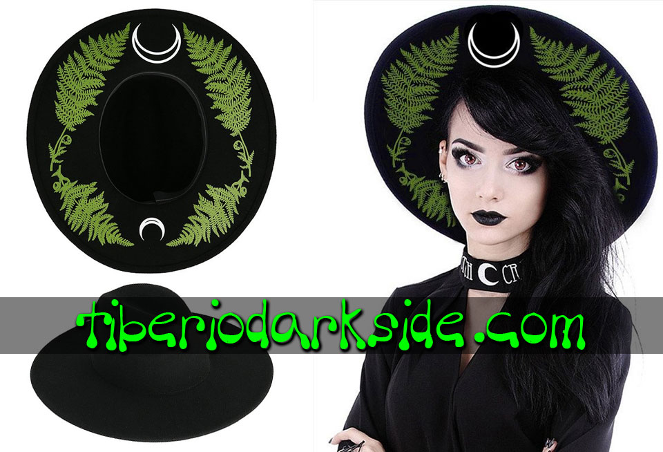 WITCHY & NU GOTH - Accessories RESTYLE Forest Fern Nu Goth Hat