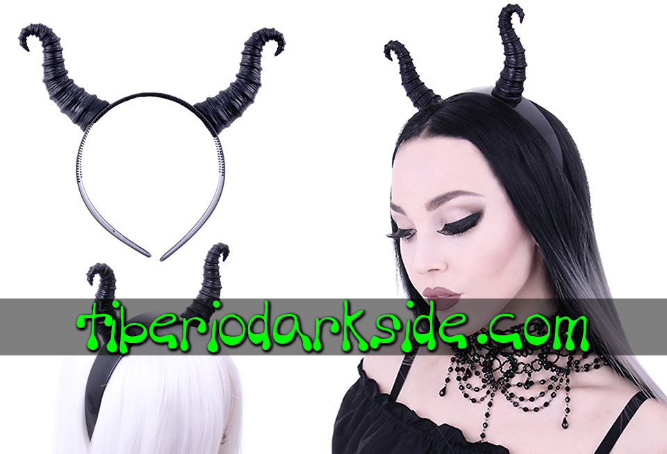 WITCHY & NU GOTH - Accessories RESTYLE Goat Horns Nu Goth Headband