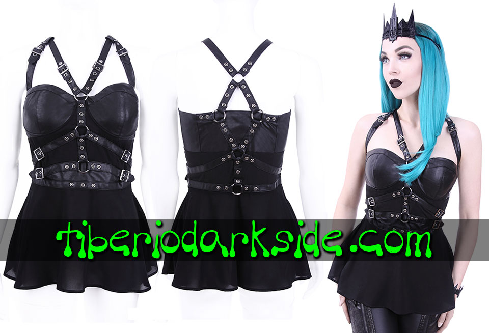 WITCHY & NU GOTH - Tops RESTYLE Top Nu Goth Arnes